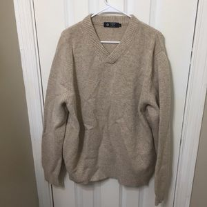J Crew Men's 100% Lambswool Wool Sweater Oversized